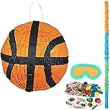 BirthdayExpress Basketball Party Supplies Pinata Kit