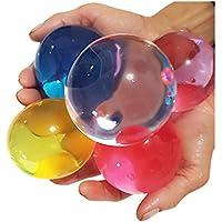 inkach水ビーズレインボーミックスゼリー水Growingジェルジャンボボール子供のSensory Toys One Size マルチカラー HM-1