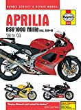 Aprilia RSV 1000 Mille (inc. RSV-R) '98 to '03 (Haynes Service & Repair Manual)