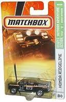 Honda RIDGELINE Matchbox 2007 MBX Outdoor Adventure #80 - Black Mid-size Pick-up Truck Honda Ridgeline 1:64 Scale