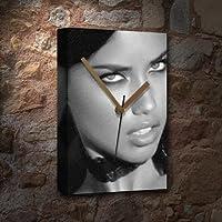 ADRIANA LIMA - キャンバス時計(LARGE A3 - アーティストによる署名入り) #js007