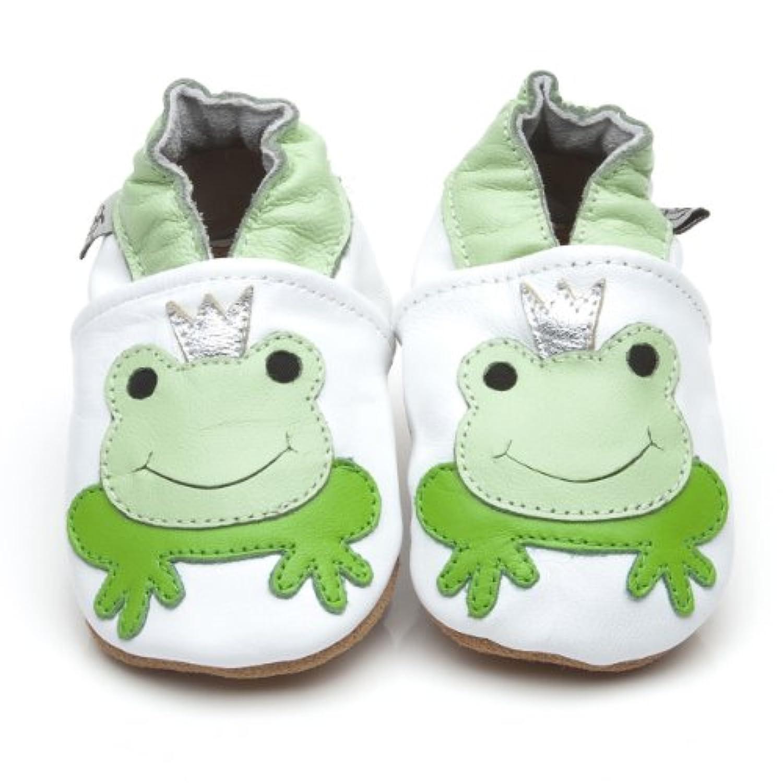Soft Leather Baby Shoes Prince Frog [ソフトレザーベビーシューズプリンスカエル] 12-18 months (13.5 cm)