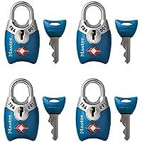 Master Lock 4689Q TSA Padlocks Accepted Keys 16 Each Pack Contains 4, Piece, 4689Q
