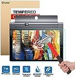 Lenovo YOGA Tab 3 Pro 10 強化 ガラス フィルム 【KuGi】 Lenovo YOGA Tab 3 Pro 10.1 インチ ガラスフィルム 表面硬度9H ラウンド処理 飛散防止処理 超耐久 超薄型 指紋防止 気泡防止 高透過率 Lenovo YOGA Tab 3 Pro 10.1 強化ガラスフィルム