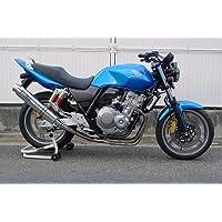 【WR'S ダブルアールズ】ステンレスサイレンサーフルエキゾーストタイプ「HONDA CB400SF/SB(スーパーボルドール)2010~」