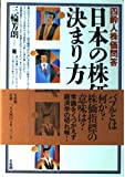 日本の株価の決まり方―四酔人株価問答