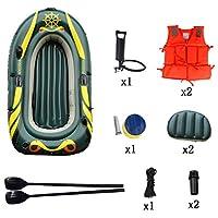 2人用の2人用小旅行用インフレータブルボートと高出力エアーポンプ - 釣り人とレクリエーションのトップライトフィッシングカヤックアイランド航海 (Size : 3 people)
