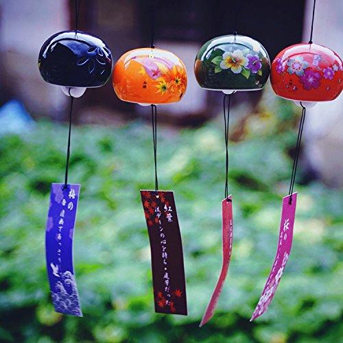 ( ^?ω^?)y-~~可愛い 萌え萌え  手芸キット 陶磁 目新しい季節 可愛い夏の花?風鈴 江戸粋風鈴 アクセサリー すずかぜ江戸風鈴