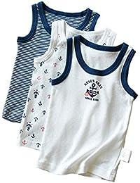 e228de48a0fc2 dodokids 夏 涼しい タンクトップ  Tシャツ二つタイプ キッズ 男の子 ...