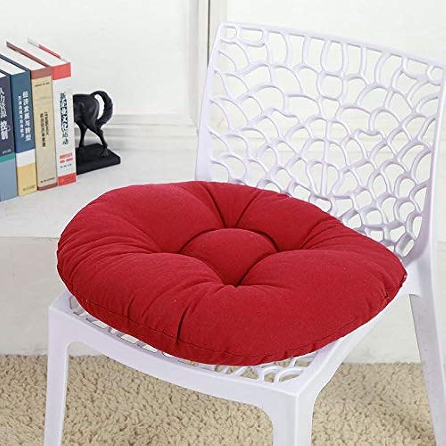 ホイスト徒歩で吐くSMART キャンディカラーのクッションラウンドシートクッション波ウィンドウシートクッションクッション家の装飾パッドラウンド枕シート枕椅子座る枕 クッション 椅子