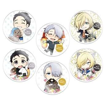 きゃらふぉるむ ユーリ!!! on ICE アクリルブローチコレクション BOX商品 1BOX = 6個入り、全6種類