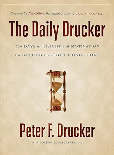 The Daily Drucker: 366 Days of Insight and Motivation for Getting the Right Things Doneの詳細を見る