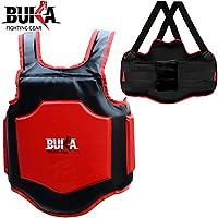 Buka Boxing胸ガードMMA Punching Mitts総合格闘技ボディプロテクターArmour