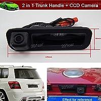 交換用車のトランクハンドル+ CCDリアビューReverseバックアップ駐車場カメラforフォードフォーカスHatchabck 20112012201320142015201620172018