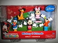 Disney Fisher-price Mickey Mouse Clubhouse Mickey & Friends Exclusive Figure Pack