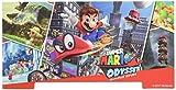 キャラプレシール for Nintendo Switch / スーパーマリオオデッセイR (液晶保護フィルム付き)