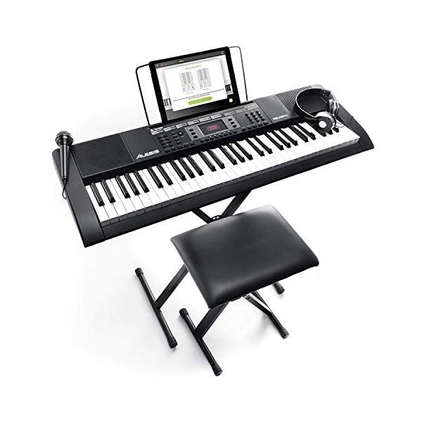 Alesis 電子キーボード 61鍵盤 初心者セ...の商品画像
