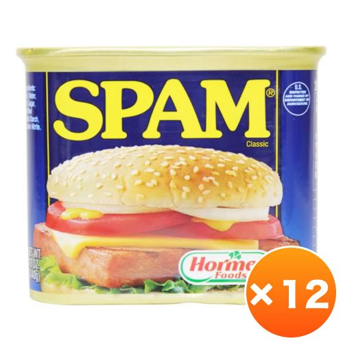 レギュラースパム(SPAM)・ポークランチョンミート 12個セット