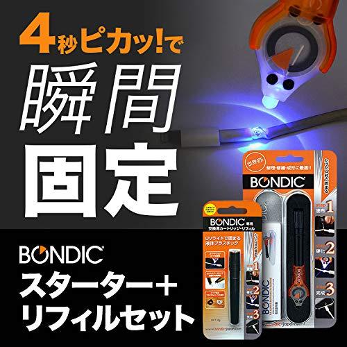 BONDIC(ボンディック) 液体プラスチック接着剤 スターターキット+リフィル1個セット [並行輸入品]
