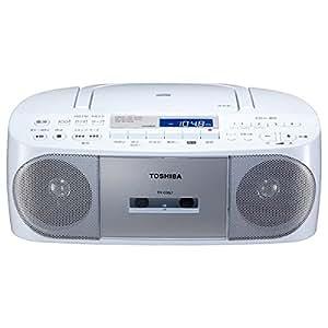 東芝 CD対応ラジカセ(シルバー)TOSHIBA TY-CDS7-S