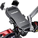 Kaedear(カエディア) スマホ ホルダー バイク ワイヤレス 充電 qi usb 携帯 ホルダー バイク用 【 ク…