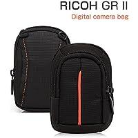 GR IIケース ポーチ カバン型 軽量/薄 RICOH GR II対応ケース デジタルカメラバッグ