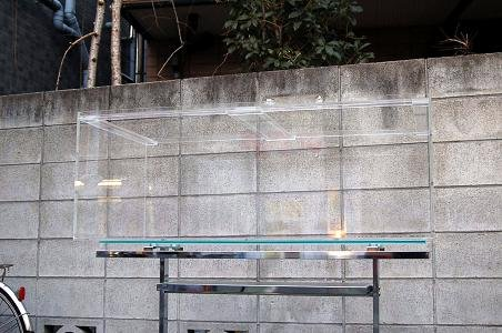 アクリル水槽 膨潤接着1800x600x600 2面黒 板厚10mm(底面8mm)