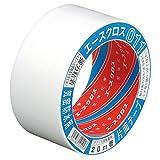 光洋化学 気密防水テープ エースクロス アクリル系強力粘着 片面テープ 011 白 50mm×20M
