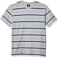 Hurley Mens BV1930 Dri-fit Harvey Stripe Short Sleeve Tshirt Short Sleeves Shirt