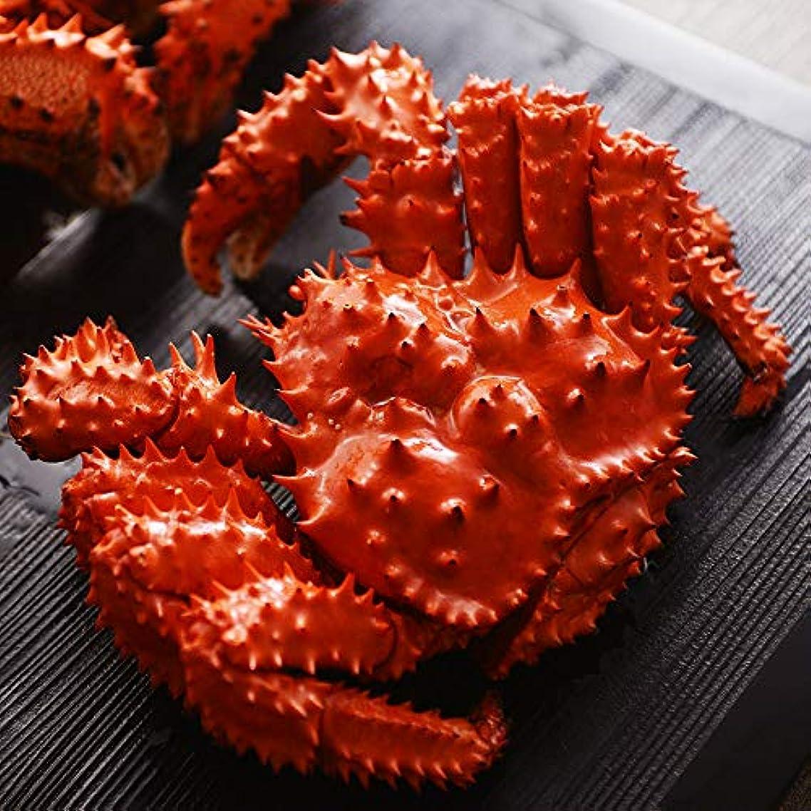 私ボア集計北国からの贈り物 花咲ガニ 姿 天然 ボイル 蟹 かに 400g 1尾