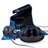 Best Razerのワイヤレスヘッドセット - Enhance Gamingバンドルセットwith over-earステレオゲーム用ヘッドセット、3500DPIマウス、XXL拡張マウスパッド&マウスバンジーwith 4- portアクティブ2.0USBポート Review