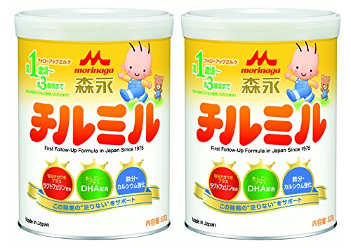 【Amazon.co.jp限定】 森永 チルミル 大缶 820g×2缶パック