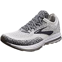 Brooks Men's Running Shoes, Black Grey Orange, ys/m