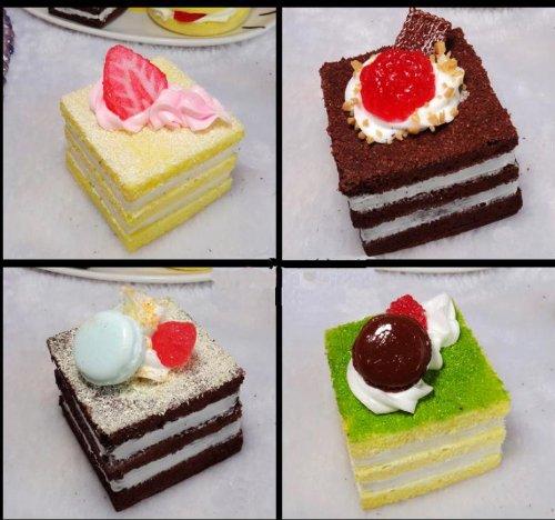 Treasure Mart 食べないで下さい プチショートケーキ4個セット リストレスト