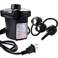 Asdomo hs-198電動エアポンプInflator CampベッドマットレスプールA / c110–120Vエアーポンプアウトドア
