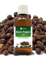 BLACK PEPPER OIL 100% NATURAL PURE UNDILUTED UNCUT ESSENTIAL OIL 15ML