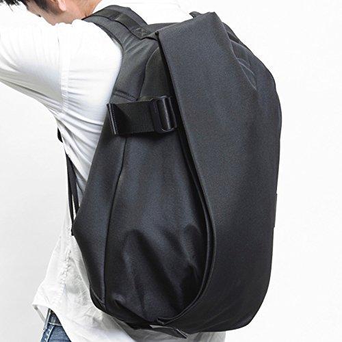(コートアンドシエル) Cote&Ciel Laptop Rucksack/Mサイズ/(13-15インチ) ノートパソコン/Macbook 収納 リュック/バックパック [並行輸入品] Black | CCLRS150-BLK
