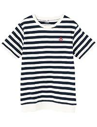 (コーエン) COEN tシャツ キモウスラブボーダーTシャツ 76256038030 レディース
