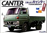 フジミ模型 1/32 トラックシリーズ TR1 三菱ふそうキャンター T200系 S50