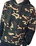 ティンバーランド ブーツ (アルファーフープ) α-HOOP メンズ カモフラ フード付き プルオーバー パーカー 長袖 上着 迷彩服 アウター DP-2