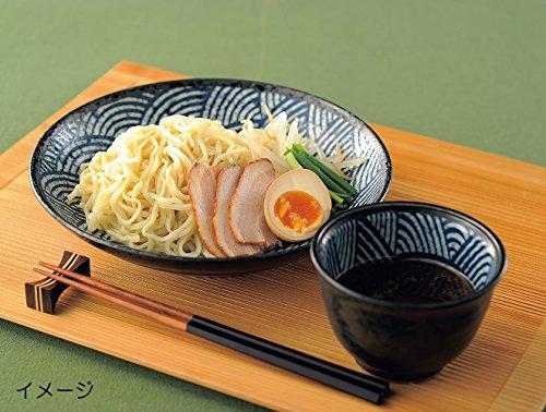 美濃焼 青海波 -江戸小紋- 麺皿 W20237