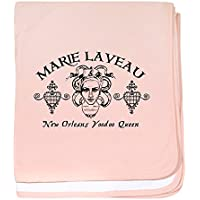CafePress – Marie Laveau – スーパーソフトベビー毛布、新生児おくるみ ピンク 05071665196832E