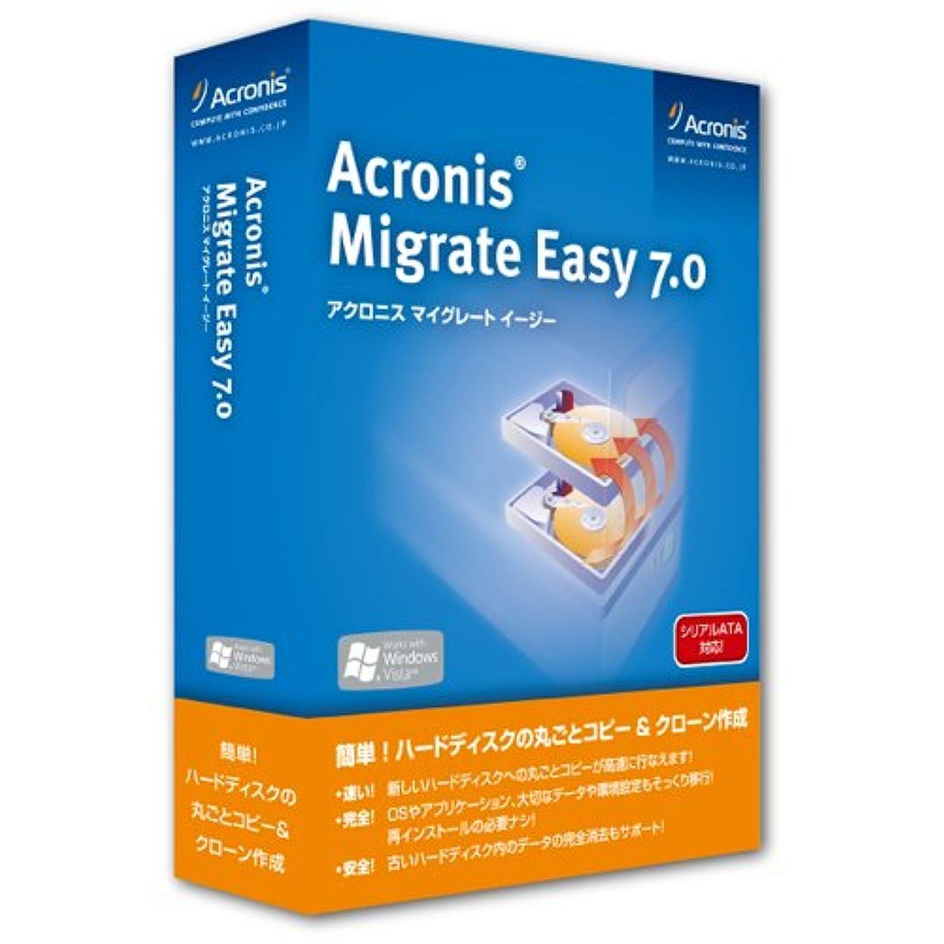 ヒューズソース人事Acronis Migrate Easy 7.0