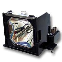 元電球と汎用ハウジングfor EIKI lc-x50d交換6103065977、6103065977、610–306–5977、poa-lmp67プロジェクターランプ