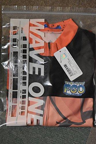半袖 サイクルジャージ FateGrand Order マンガで分かるFGO XLサイズ セイバー WAVE ONE ウエイブワン サイクルウェア ジャージ