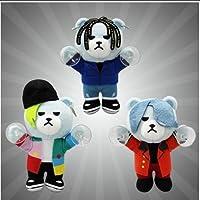 KRUNK×BIGBANG  FXXK IT 吸盤付きぬいぐるみ 全3種 G-DRAGON SOL D-LITE