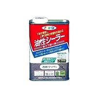 アサヒペン 油性シーラー 1L 透明(クリヤ)