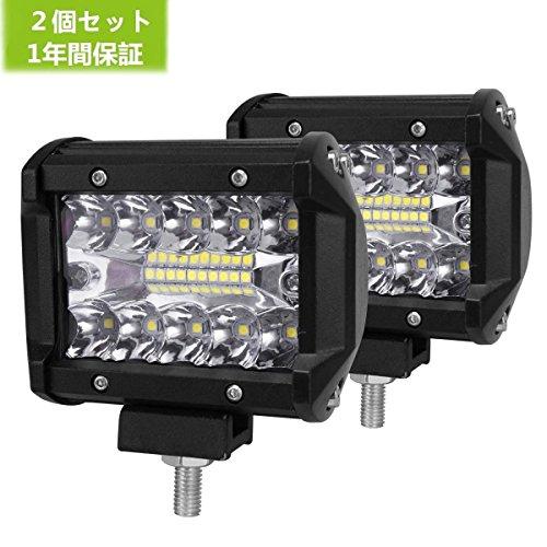 BORDAN LED作業灯 車照明 船舶用 ワークライト デ...