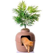 (Brown) - Good Pet Stuff Company Hidden Cat Litter Box