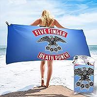 Five Finger Death Punch ファイブフィンガーデスパンチ バスタオル マイクロファイバー おしゃれ 速乾タオル 人気 安い ふわふわ 抜群の肌触り 吸水抜群 70×140cmサイズ/ 80×160cmサイズ 旅行 スイム タオル